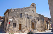 Church of St. Martino. Tarquinia. Lazio. Italy. — Stock Photo