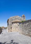 Iglesia de san salvatore. tarquinia. lazio. italia. — Foto de Stock