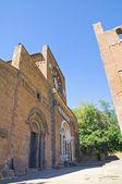 St maria maggiore bazilikası'na. tuscania. lazio. i̇talya. — Stok fotoğraf