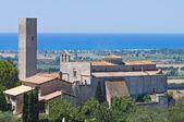 Panoramic view of Tarquinia. Lazio. Italy. — Fotografia Stock