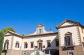 Edificio del municipio. tuscania. lazio. italia. — Foto Stock