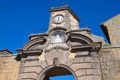 Porta di poggio. tuscania. lazio. italia. — Foto de Stock