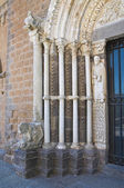 St. maria maggiore basiliek. tuscania. lazio. italië. — Stockfoto