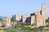 Panoramatický pohled na tuscania. lazio. itálie. — Stock fotografie