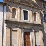 Church of St. Lodovico. Orvieto. Umbria. Italy. — Stock Photo #13441312