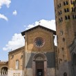 Church of St. Andrea. Orvieto. Umbria. Italy. — Stock Photo