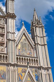 Cathedral of Orvieto. Umbria. Italy. — Stock Photo