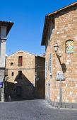 Callejón. orvieto. umbria. italia. — Foto de Stock