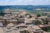 Vue panoramique d'orvieto. ombrie. italie. — Photo