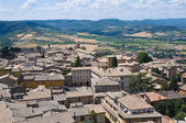 Panoramatický pohled na orvieto. umbrie. itálie. — Stock fotografie