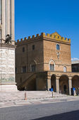 Soliano palace. Orvieto. Umbria. Italy. — Foto Stock
