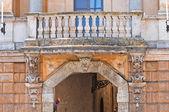 宫殿的歌剧大教堂。奥维多。翁布里亚。意大利. — 图库照片