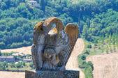 Porta romana. Orvieto. Umbria. Italia. — Foto de Stock