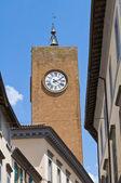 Moor Tower. Orvieto. Umbria. Italy. — Stock Photo