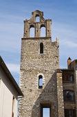Belltower of St. Bernardino. Narni. Umbria. Italy. — Stock Photo