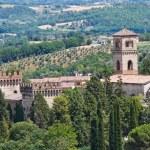 Castle of St. Girolamo. Narni. Umbria. Italy. — Stock Photo