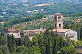 Schloß von st. girolamo. narni. umbrien. italien. — Stockfoto