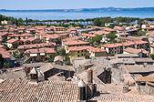 ボルセーナのパノラマ風景。ラツィオ州。イタリア. — ストック写真