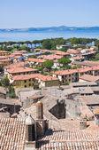 博尔塞纳的全景视图。拉齐奥。意大利. — 图库照片