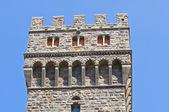 Castle of Torre Alfina. Lazio. Italy. — Stock Photo