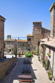 Panoramic view of Bolsena. Lazio. Italy. — Foto Stock
