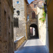 Stock Photo: Alleyway. SGemini. Umbria. Italy.