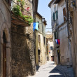 Alleyway. Amelia. Umbria. Italy. — Stockfoto #13802079