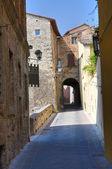 Alleyway. San Gemini. Umbria. Italy. — Stock Photo