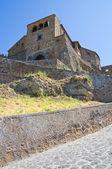 View of Civita di Bagnoregio. Lazio. Italy. — Stock Photo