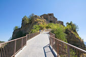 Panoramic view of Civita di Bagnoregio. Lazio. Italy. — Stock Photo