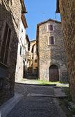 Steegje. ronciglione. lazio. italië. — Stockfoto