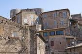 Widok ronciglione. Lazio. Włochy. — Zdjęcie stockowe