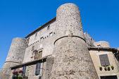 Anguillara castle. Ronciglione. Lazio. Italy. — Stock Photo