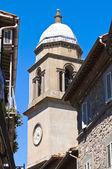 路地。モンテフィアスコーネ。ラツィオ州。イタリア. — ストック写真