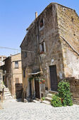 Alleyway. Capranica. Lazio. Italy. — Stock Photo