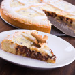Ricotta cheese crostata. - Stock Photo