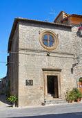 Igreja de santo antonio abate. vitorchiano. lazio. itália. — Foto Stock