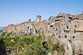 Vitorchiano のパノラマ風景。ラツィオ州。イタリア. — ストック写真
