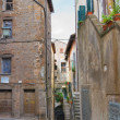 Stock Photo: Alleyway. Vetralla. Lazio. Italy.