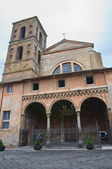 Cathedral of Nepi. Lazio. Italy. — Stock Photo