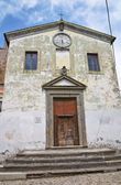 Church of SS nome di Gesu'. Calcata. Lazio. Italy. — Стоковое фото
