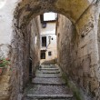 Foto Stock: Alleyway. Calcata. Lazio. Italy.