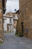 Alleyway. Nepi. Lazio. Italy. — Stock Photo