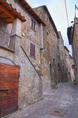 Alleyway. Sutri. Lazio. Italy. — Stock Photo