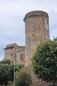 Castillo de los borgia. nepi. lazio. italia. — Foto de Stock
