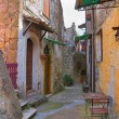 Stock Photo: Alleyway. Calcata. Lazio. Italy.