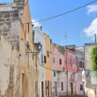 Alleyway. Nardò. Puglia. Italy. - Stock Photo