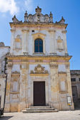 Church of St. Trifone. Nardò. Puglia. Italy. — Stock Photo