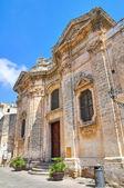 Church of Purità. Nardò. Puglia. Italy. — Stockfoto