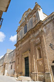 Church of St. Chiara. Nardò. Puglia. Italy. — Stock Photo